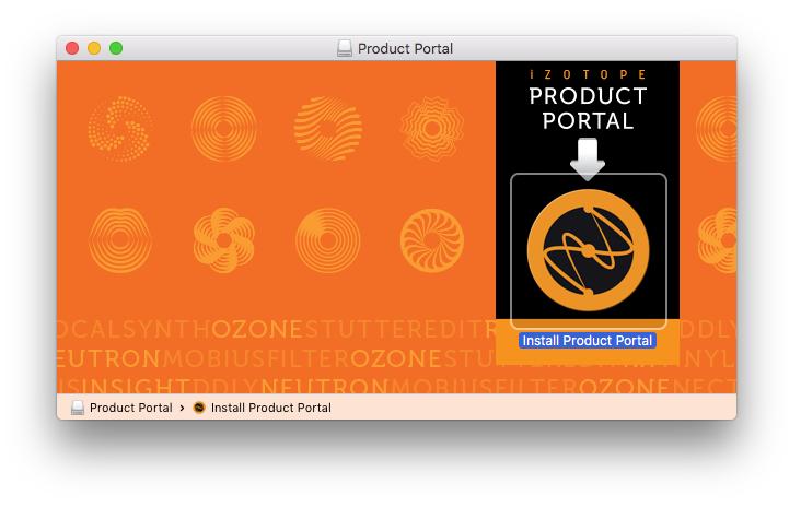 MAC: Izotope Product Portal Installation Guide – Customer