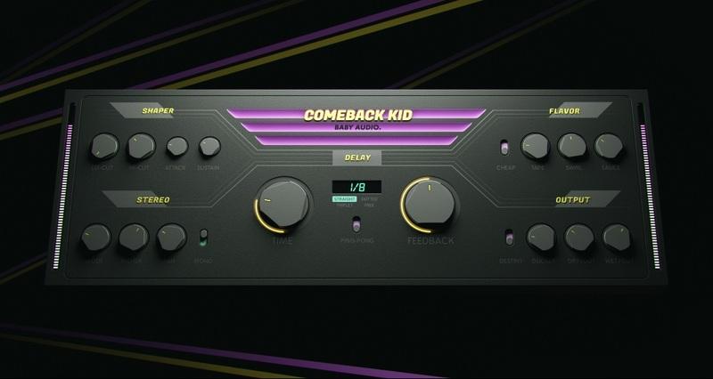 content baby audio comeback kid 3d render 02
