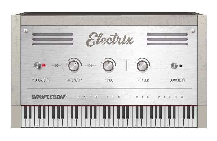 Content Electrix Piano Front Pluginboutique