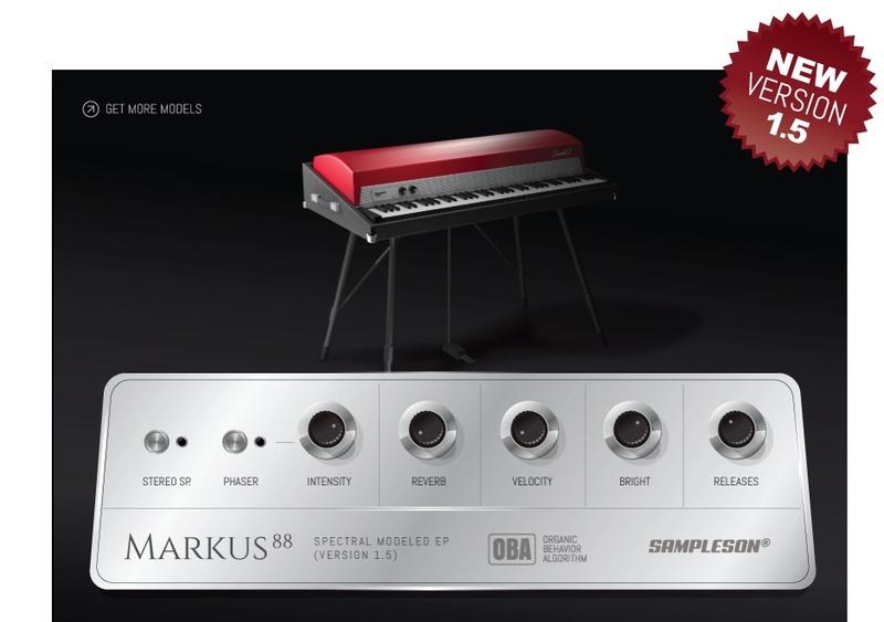 Content Tines Electric Piano Markus 88 Version 15 Pluginboutique