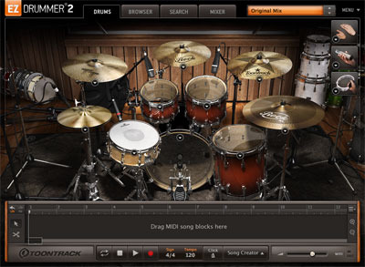 ezdrummer free download full version mac