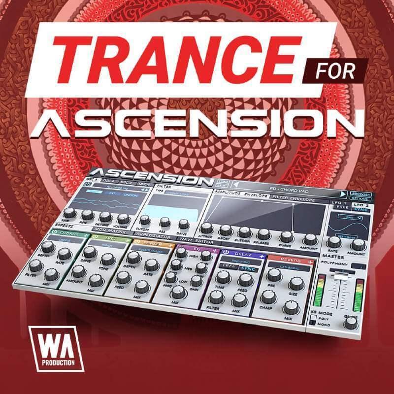 Content W.a.prod Trance For Ascension Artwork Pluginboutique Part Time Producer