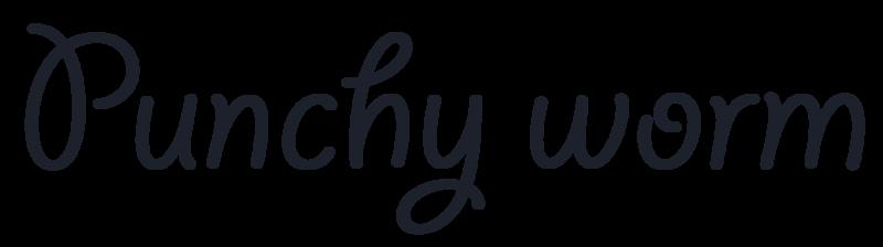 Original Content Punchy Worm Logo