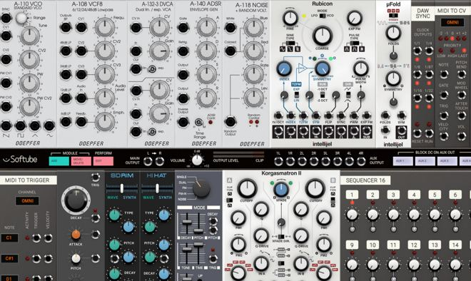 Original Modular Softube Synth Pluginboutique Part Time Producer