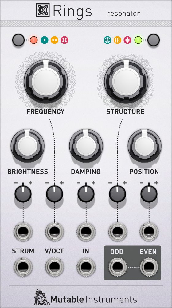 Original Softube Mutable Instruments Rings High Res Gui Pluginboutique Part Time Producer