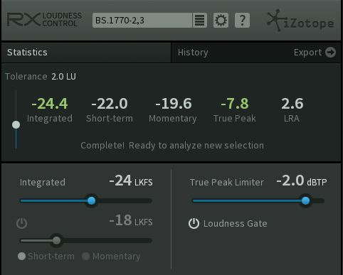 izotope rx loudness control mac torrent