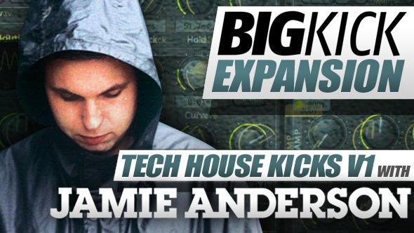 Plugin Boutique Jamie Anderson BigKick Expansion Pack