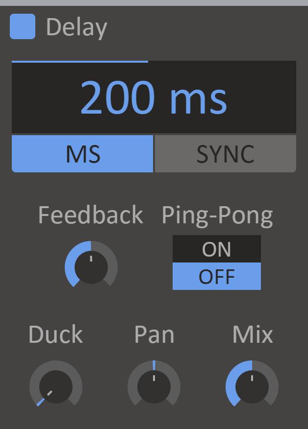 Content Delay Screenshot