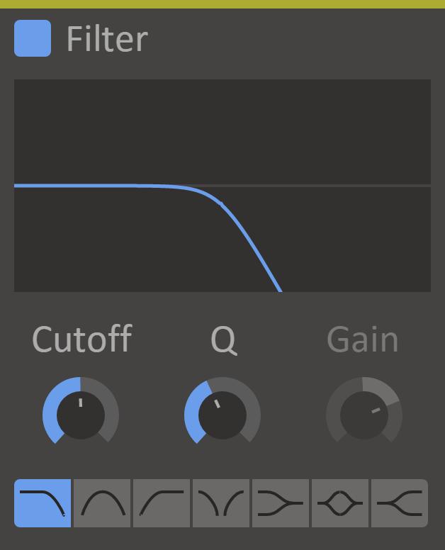 Content Filter Screenshot