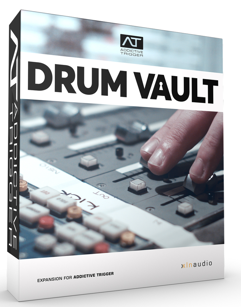 Drum Vault TrigPak, Drum Vault TrigPak plugin, buy Drum