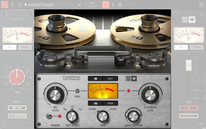 free tape emulation plugin mac