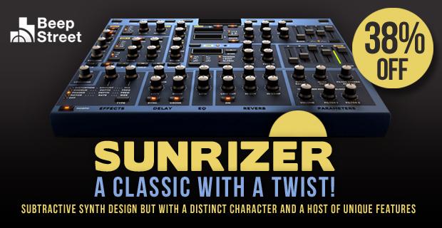 jp 8080 sunrizer after recordings