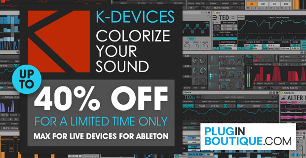 K-Devices Introductory Sale: Save up to 40% off at Plugin Boutique