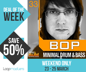 Dotw bop minimal drum and bass 300x250 pluginboutique