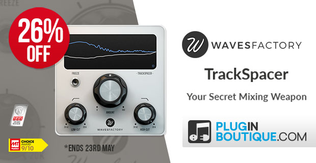 Wavesfactory Trackspacer 2.5 Sale, save 26% off at Plugin Boutique
