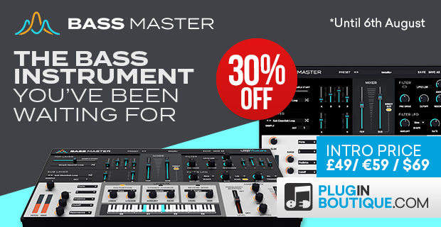 Loopmasters Bass Master Introductory Sale: Save at Plugin Boutique
