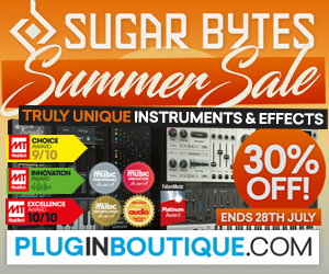300 x 250 pib sugar bytes summer sale pluginboutique