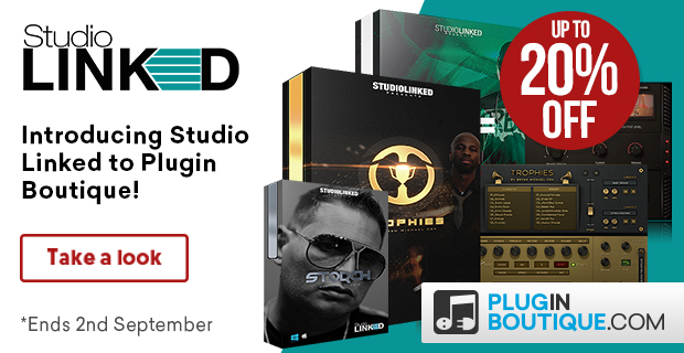 Studio Linked Sale, save 15% off at Plugin Boutique