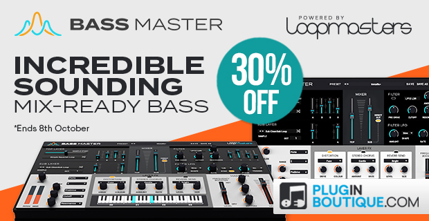 Loopmasters Bass Master Sale, save 30% off at Plugin Boutique