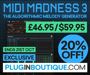 Midi Madness 3, Midi Madness 3 plugin, buy Midi Madness 3