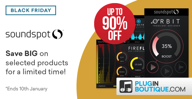 SoundSpot Black Friday Sale at Plugin Boutique
