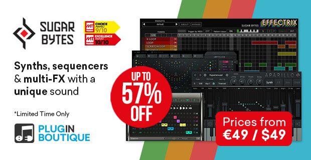 Sugar Bytes Black Friday Sale: Save at Plugin Boutique