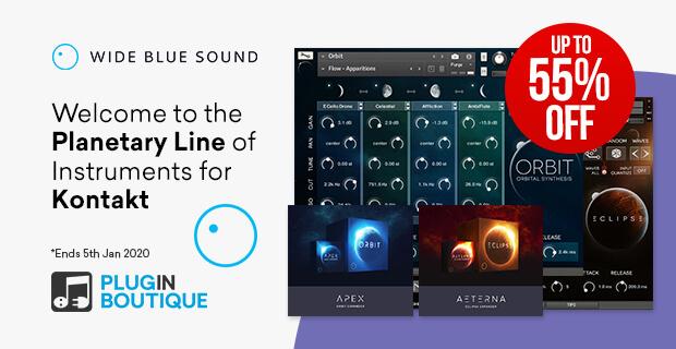 Wide Blue Sound ahora en oferta