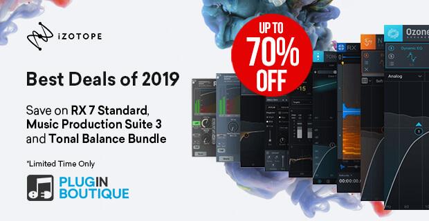 iZotope Best Deals of 2019