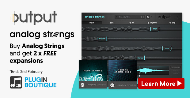 Output Sale, Save 25% off at Plugin Boutique