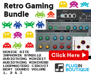 Plugin Boutique Retro Gaming Bundle