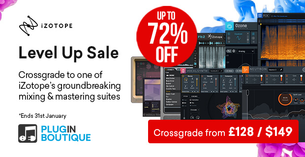620x320 izotope levelup banner pluginboutique