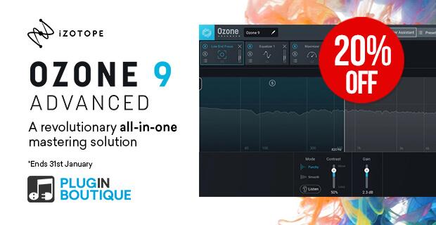 iZotope Ozone 9 Advanced Sale