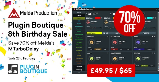 620x320 meldamturbodelay birthday pluginboutique