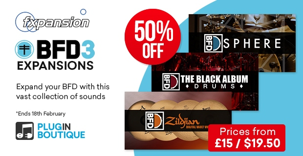 FXpansion BFD Expansions & Groove Packs Sale