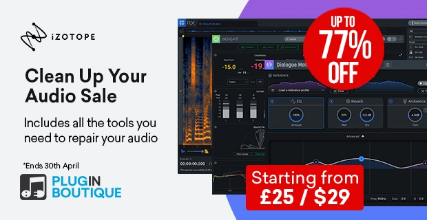 620x320 izotope cleanupyouraudio fixed pluginboutique