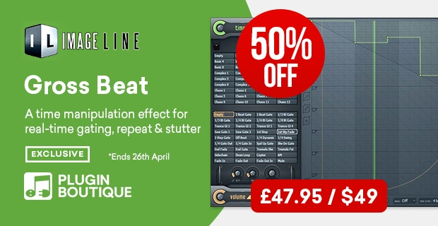 Image Line Gross Beat Sale (Exclusive), save 50% off at Plugin Boutique