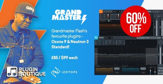 iZotope Grandmaster Flash Sale Ozone 9 Standard Neutron 3 Standard