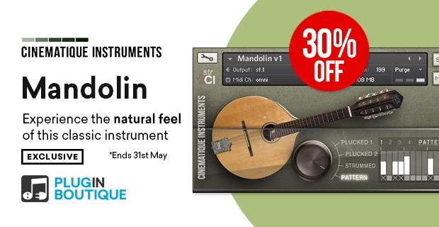 Cinematique InstrumentsのMandolinが30%OFFの約3,000円!