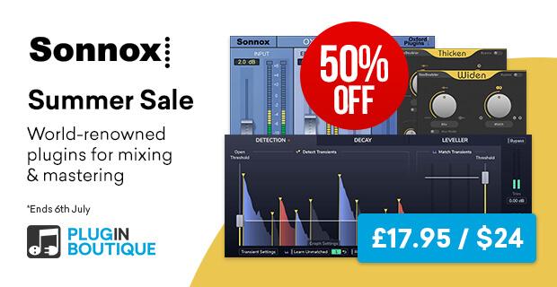 2. Sonnox Summer Sale (50% OFF)