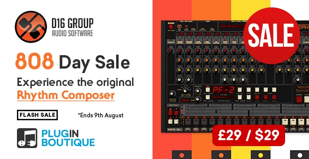 808 Day Flash Sale, Save at Plugin Boutique
