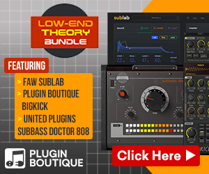 Low-End Theory Bundle, learn more at Plugin Boutique