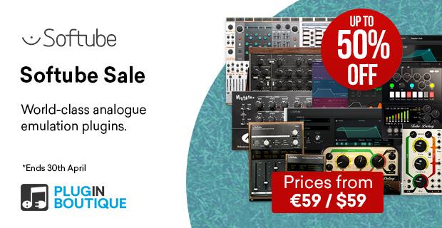 Softube plugins sale march april 2021 pluginboutique