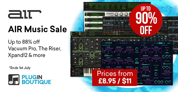 620x320 airmusic sale may banner pluginboutique %281%29