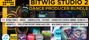 620 x 320 pib bitwig studio 2 dance music producer bundle