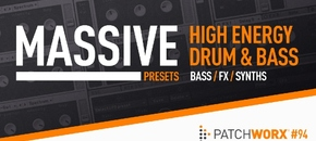 High energy drum and bass massive presets pluginboutique