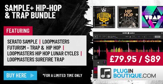 Sample+ Hip-Hop & Trap Bundle, Sample+ Hip-Hop & Trap Bundle plugin
