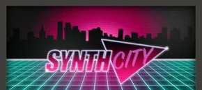 Aas synth city poster pluginboutique