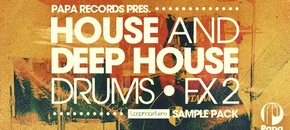 Paparecords house deephouse drums fx2 pluginboutique