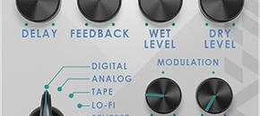 Efektor dl3606 delay screenshot pluginboutique