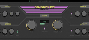 Baby audio comeback kid interface dark pluginboutique